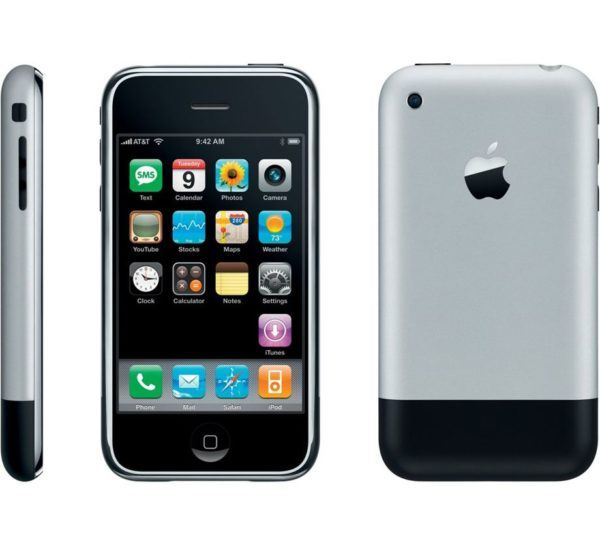 iphone 1 pic 600x548 - iPhone (1st generation) - Full Phone Information