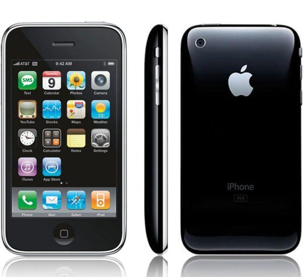 iphone 3g pic 600x548 - iPhone 3G - Full Phone Information, Tech Specs