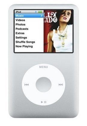 ipod classic color display