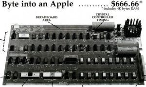 First Apple I advertisment