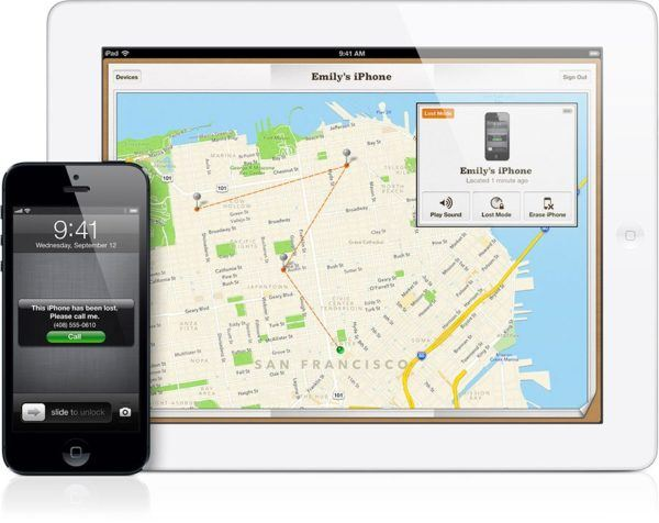 Find My iPhone app