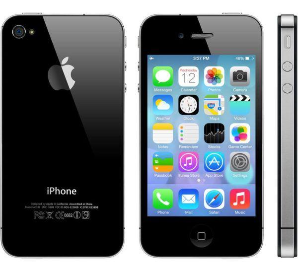 iphone 4s black 600x548 - iPhone 4s - Full Phone Information, Tech Specs