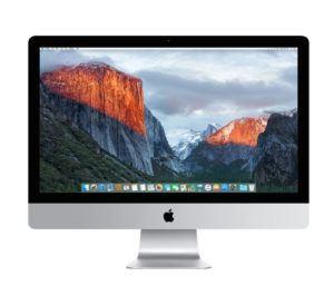 iMac (27-inch Retina 5K, 3.5GHz Intel Core i5, Late 2014)