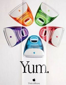 YUM Apple Poster from 1999