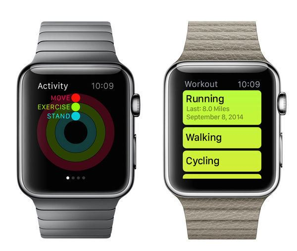apple watch fitness 600x507 - Apple Watch: Review Fitness Data in Health App