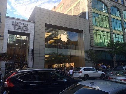 apple store history of Apple 2008