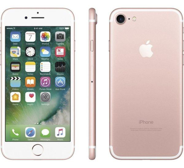 iphone 7 rose gold 600x548 - iPhone 7 - Full Phone Information, Tech Specs