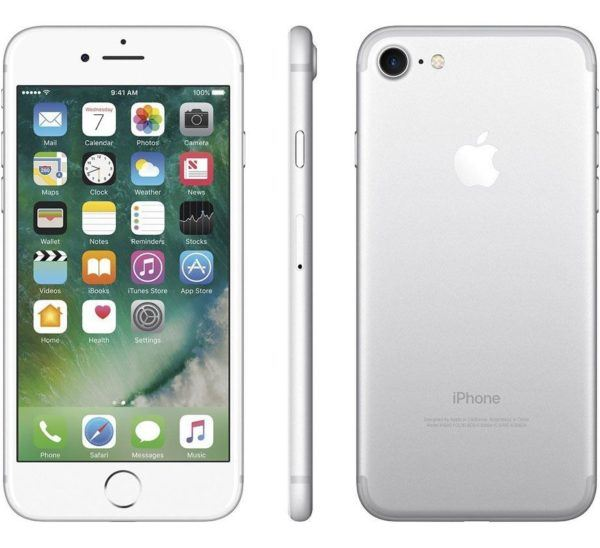 iphone 7 silver 600x548 - iPhone 7 - Full Phone Information, Tech Specs