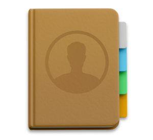 Address Book on Mac