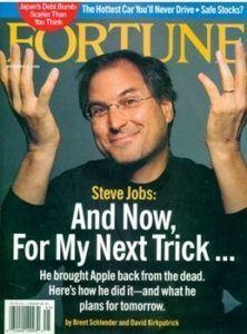 Fortune, November 1998. Steve Jobs