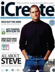 icreate april 2005 Steve Jobs