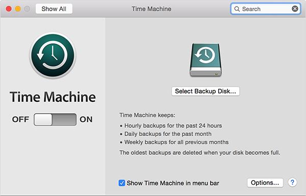 set up time machine 600x385 - Apple Time Machine