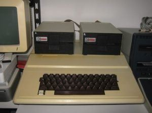 Apple's clone ComputerTechnik SK-747 / IBS Space 84 (Apple II Clone)
