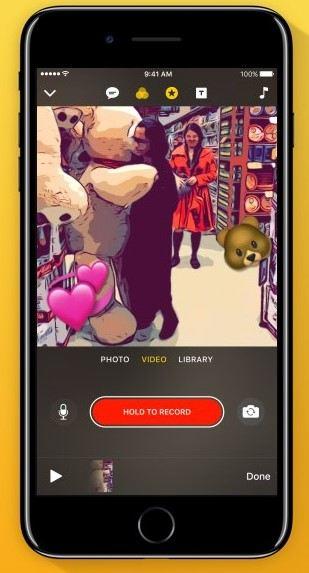 clips iOS app