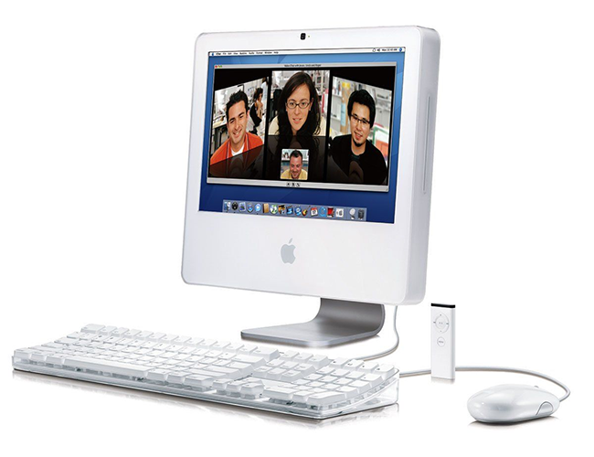 imac intel plastic 2006 - Apple iMac – Full information, all models and much more