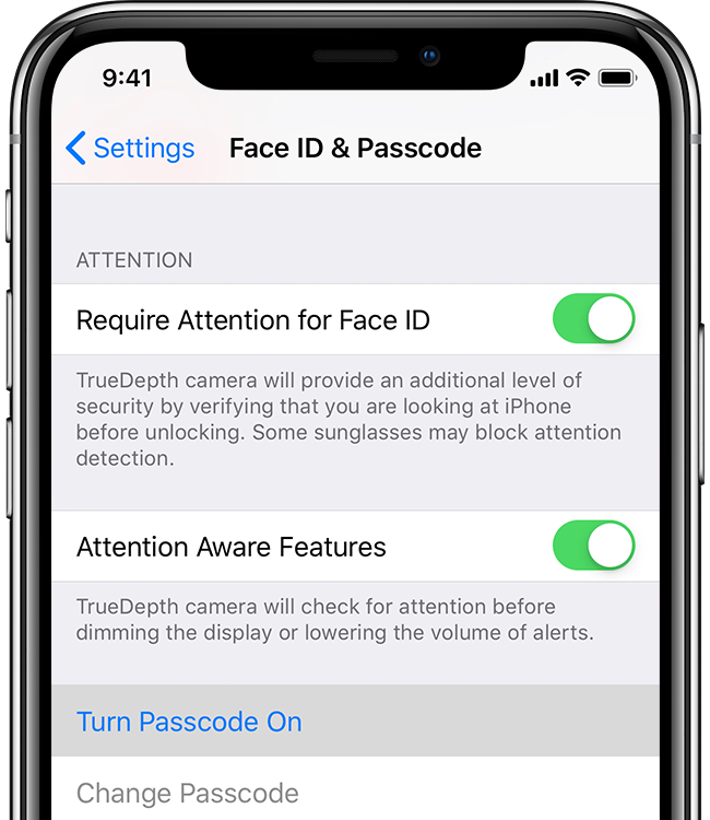 You can always change your Passcode in Face ID & Passcode Settings.