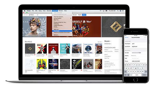 What to do if the iPhone Is linked to another iTunes Library