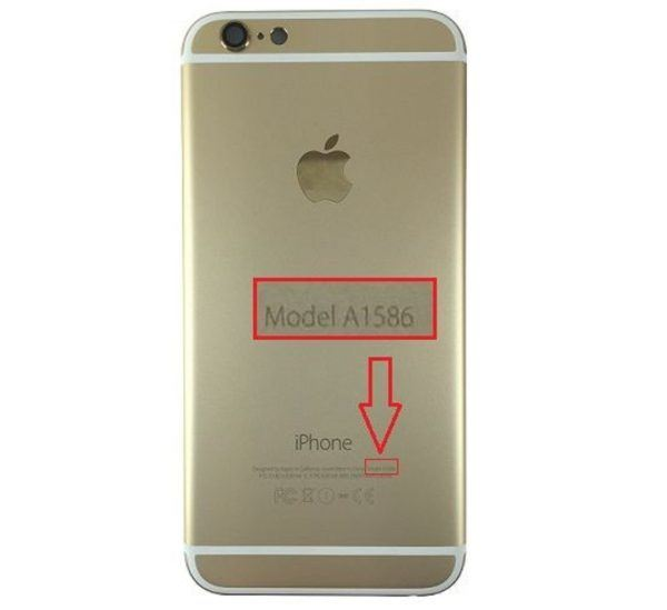 iphone6gold 2 600x549 - How to Identify Your iPhone