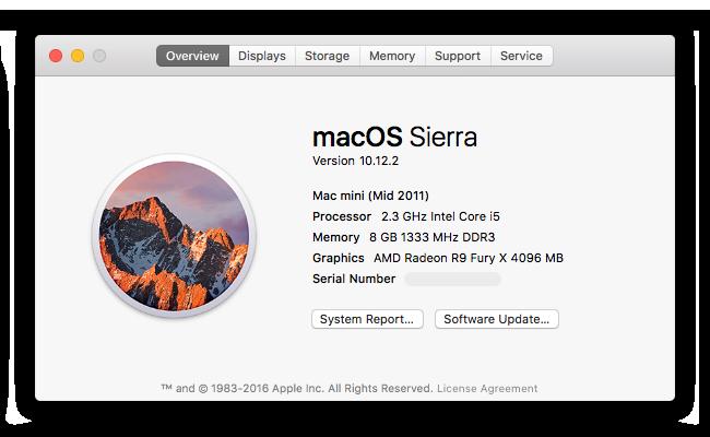 identify mac mini in about this mac window - How to Identify Your Mac mini