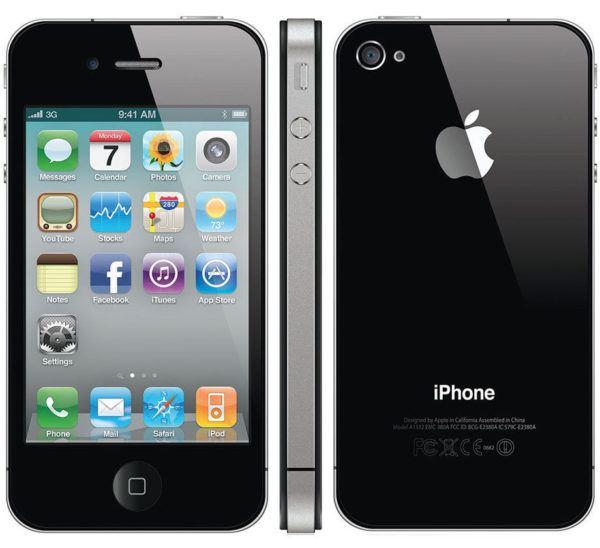 iphone 4 black 600x548 - iPhone 4 - Full Phone Information, Tech Specs