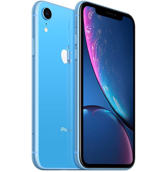Featuring A12 Bionic Chip, 6.1-Inch Liquid Retina Display, Aluminum and Glass Design in Six Beautiful Finishes, Face ID and Advanced Camera System