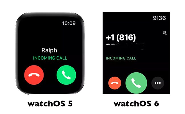 watchos 6 calls - watchOS 6 - New Ways to Stay Connected