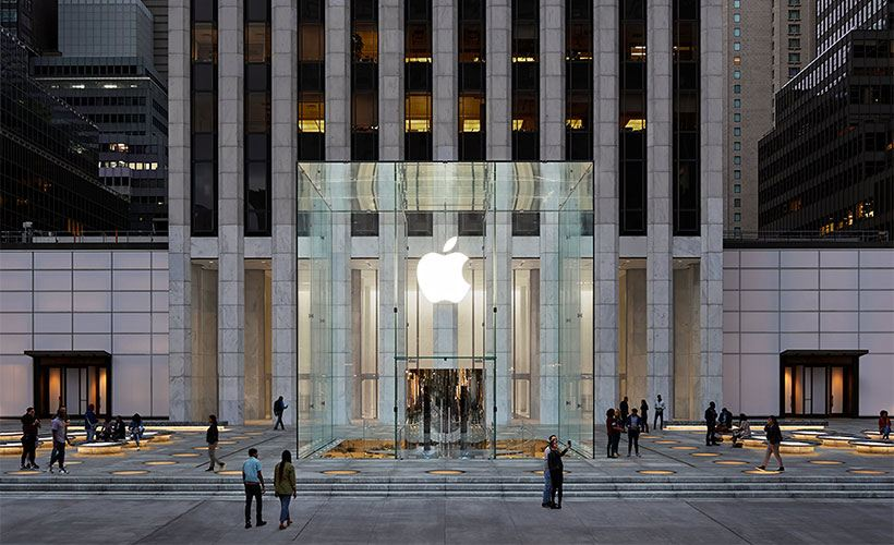 Apple previews the new Apple Fifth Avenue, an entirely reimagined space beneath one of New York City's most recognized landmarks.