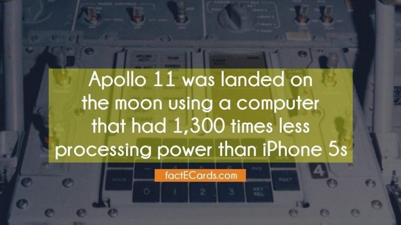 How Powerful Was the Apollo 11 Computer?   iGotOffer