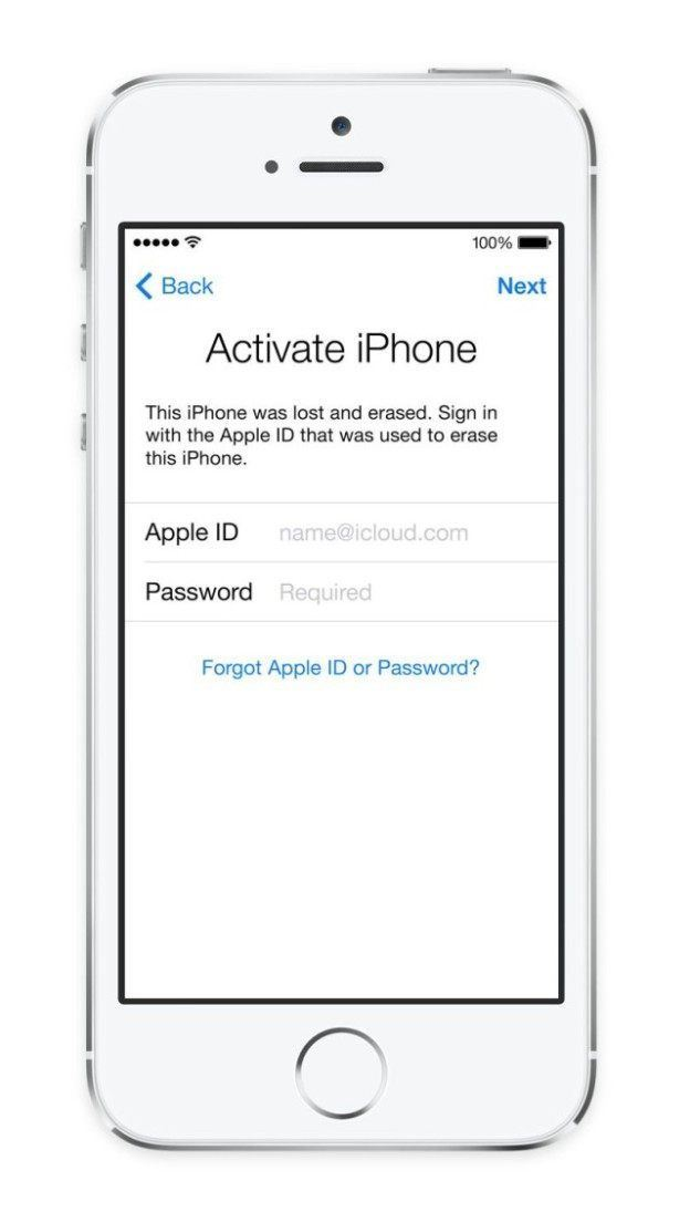 Activation lock, iOS 7, Find My iPhone