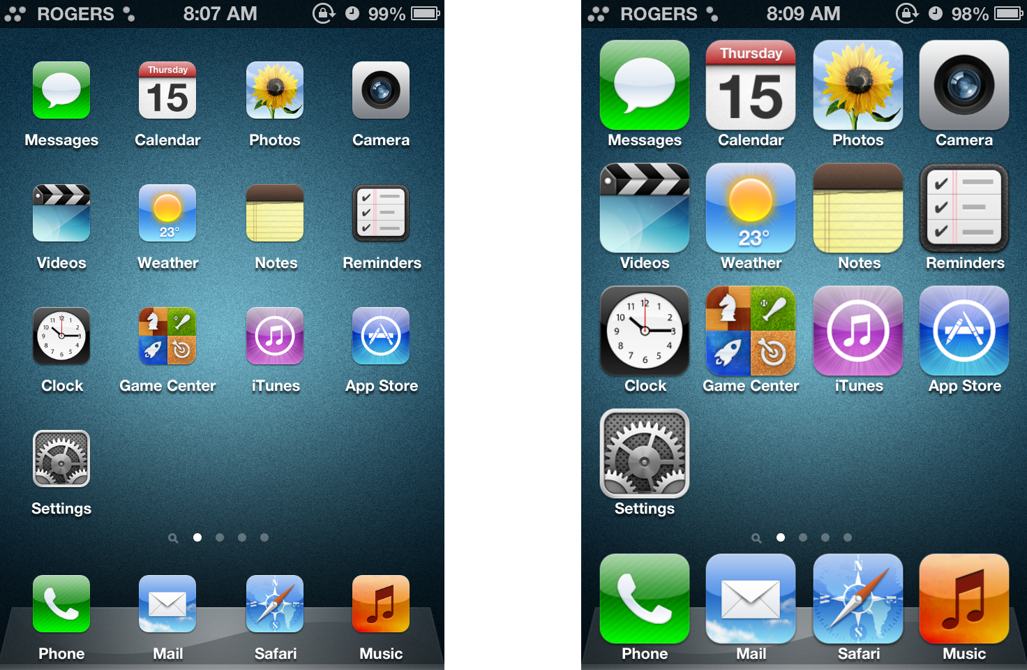 iPhone Icons Are Huge