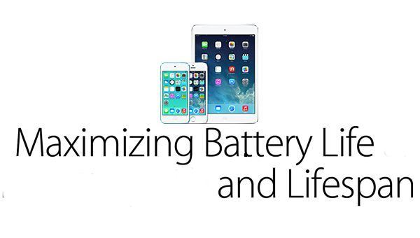 Maximize battery life and lifespan