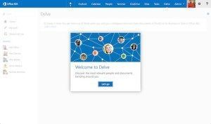 What is Microsoft Office Delve App?