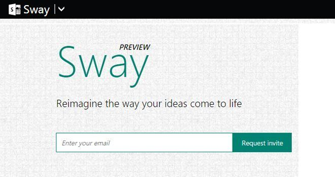 Microsoft Sway. Create and share your media information online