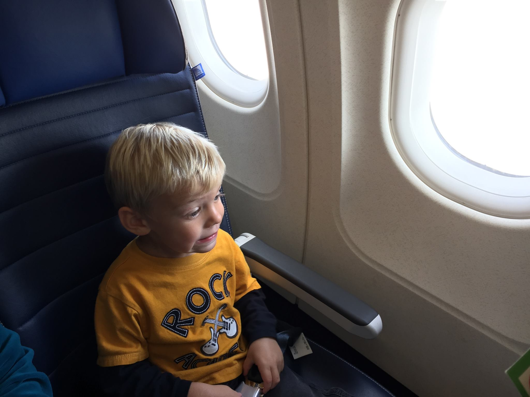 Calm Toddler While Flying
