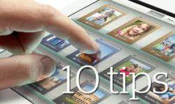 10 iPad tricks and tips