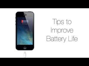 Ten tips to Improve Battery Use of your iPhone
