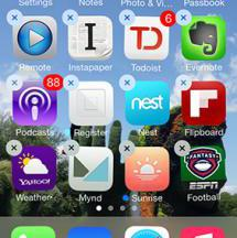 Rearranging the Home Screen Icons on iPhone, iPod and iPad