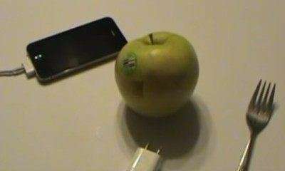 Power Your iPhone from Fruit: Fact or Fiction?
