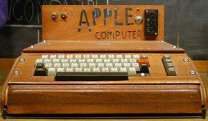 introducing Apple I 1976