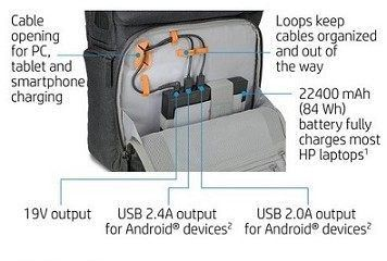HP Powerup Backpack: Get Past Your Fear of a Low Battery