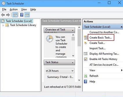 task scheduler - Schedule PC Shut-Down with Built-In Tools