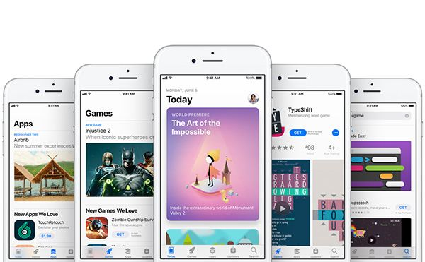 App Store New Design