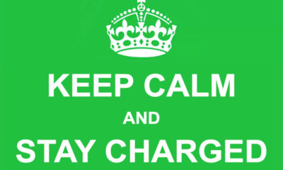 Keep Calm and Stay Charged