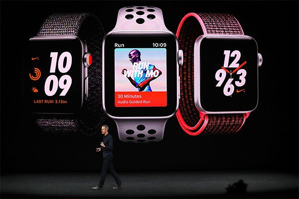 Apple Event September 12, 2017 - Apple Watch 3 Video