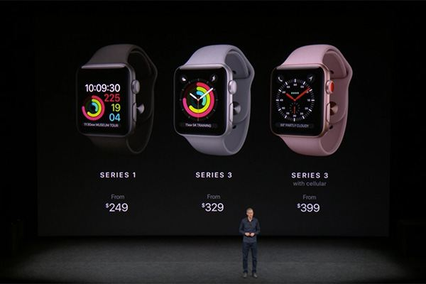 Apple Event September 12, 2017 - Apple Watch 3