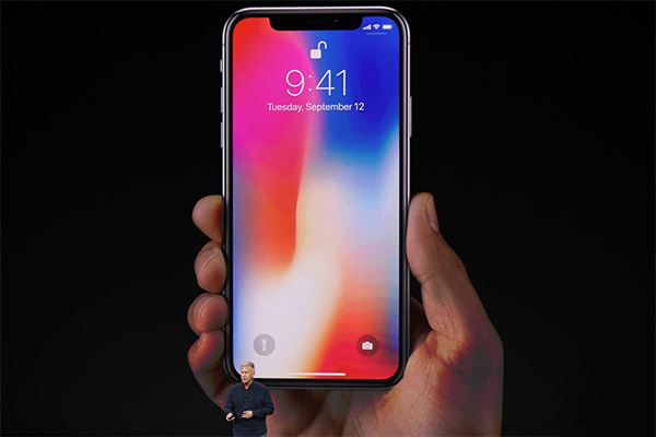 Apple Event September 12, 2017 - iPhone X Touch ID Fingerprint
