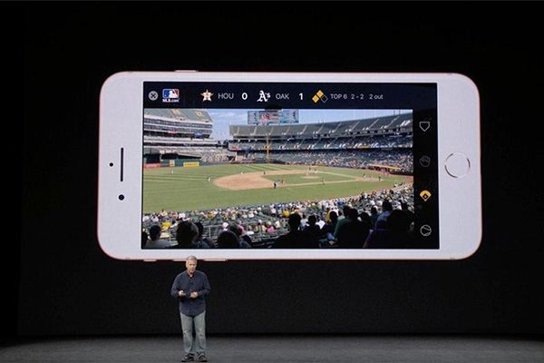 Apple Event September 12, 2017 - iPhone 8 Augmented Reality