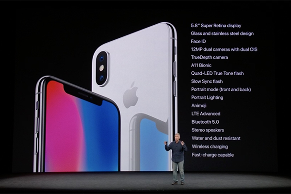 Apple Event September 12, 2017 - iPhone X Specifications