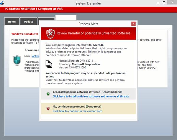 fake antivirus alert - Rogue Antivirus FAQ - All About Fake Antivirus