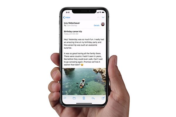 iPhone X Home Button and Navigation